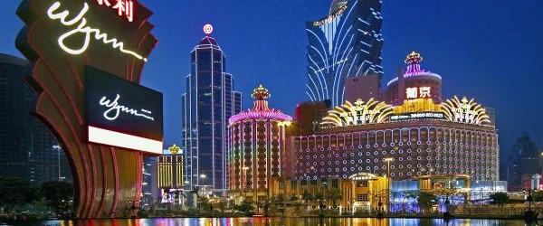 Macau Casinos at Dusk